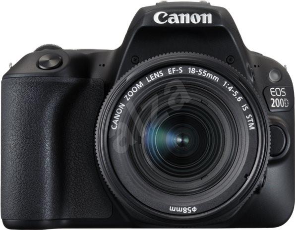Canon EOS 200D černý + 18-55mm IS STM - Digitální fotoaparát