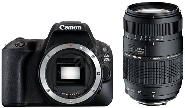Canon EOS 200D černý + TAMRON AF 70-300mm f/4-5,