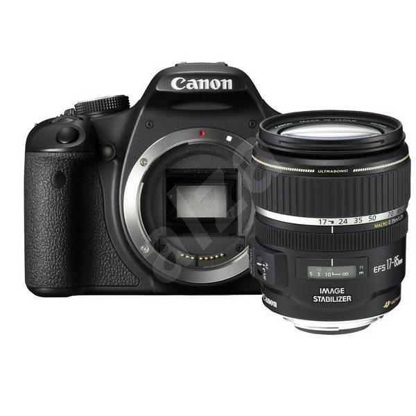Canon EOS 500D + objektivy 18-55 IS + 55-250 IS - Digitální zrcadlovka