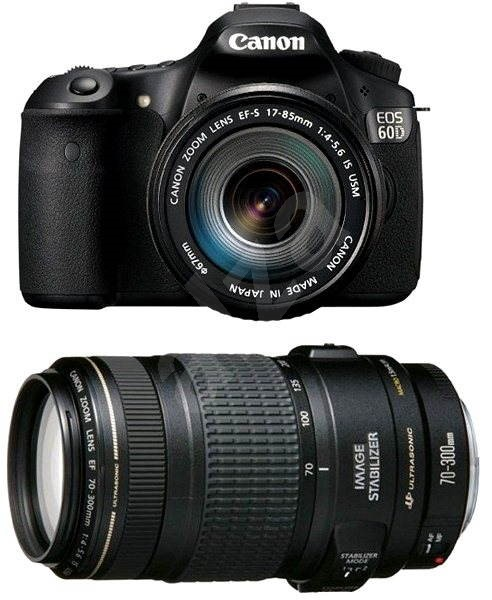 Canon EOS 60D + objektivy EF-S 17-85mm + EF 70-300mm - Digitální zrcadlovka