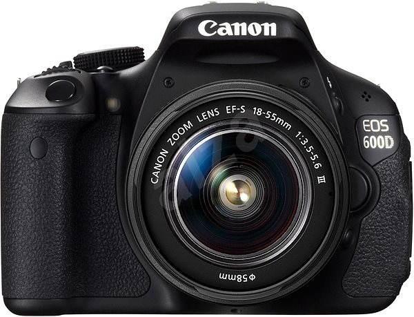 Canon EOS 600D + EF-S 18-55mm DC III - Digitální zrcadlovka