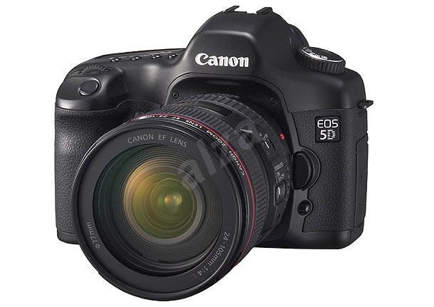 Canon EOS 5D - zrcadlovka 12 mil. bodů, kit s objektivem EF 24-105mm IS -