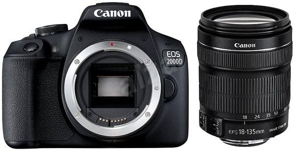 Canon EOS 2000D + 18-135mm IS STM - Digitální fotoaparát