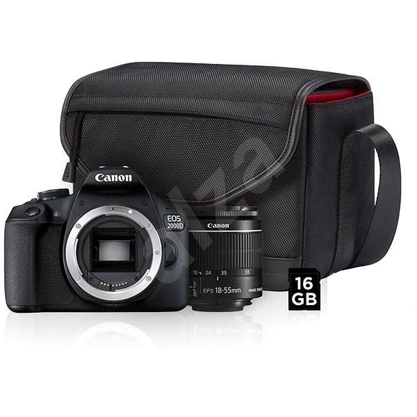 a399e85443c Canon EOS 2000D + 18-55mm IS II Value Up Kit - Digitální fotoaparát ...