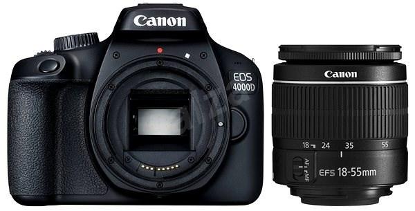 Canon EOS 4000D + 18-55mm DC III - Digitální fotoaparát