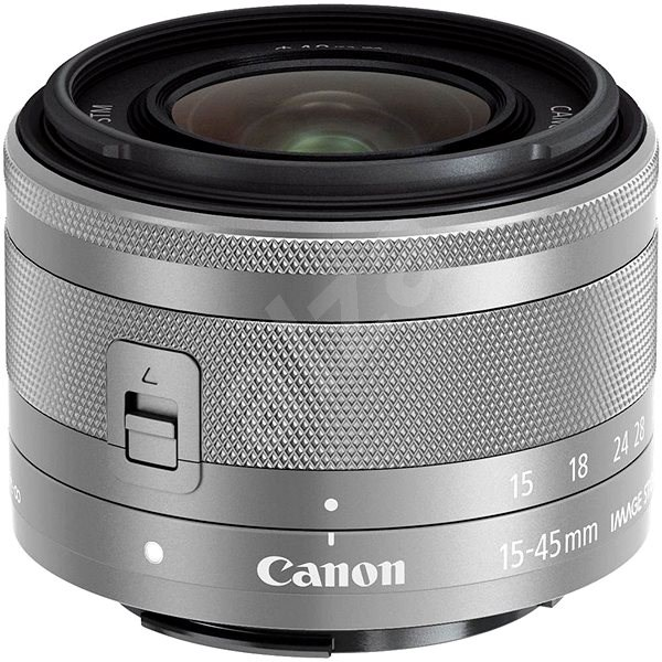 Canon EF-M 15-45mm f/3.5 - 6.3 IS STM Silver - Objektiv