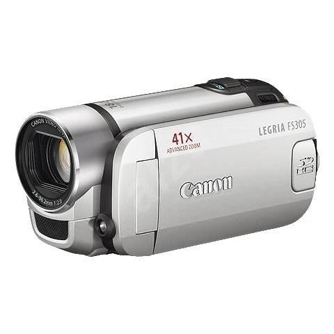 Canon FS305 stříbrná - Digitální kamera
