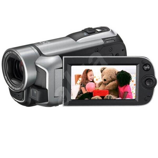 Canon HF R106 kit stříbrná - Digitální kamera