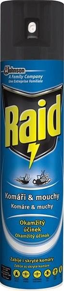 RAID proti létajícímu hmyzu 400 ml - Odpuzovač hmyzu