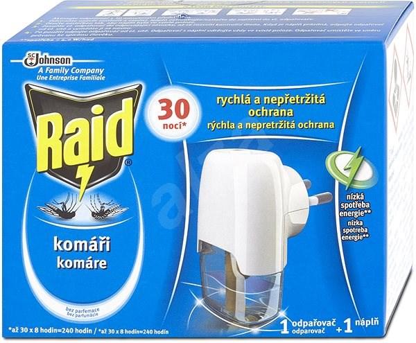 RAID elektrický odpařovač 1+21 ml - Odpuzovač hmyzu