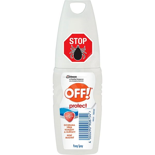 OFF! Protect 100 ml - Odpuzovač hmyzu