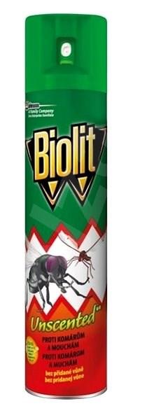 BIOLIT sprej proti létajícímu hmyzu bez parfemace 400 ml - Odpuzovač hmyzu