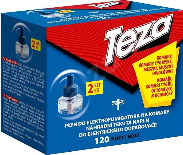 TEZA náhradní náplň do el. odpařovače 2x 36 ml (120 nocí) - Odpuzovač hmyzu