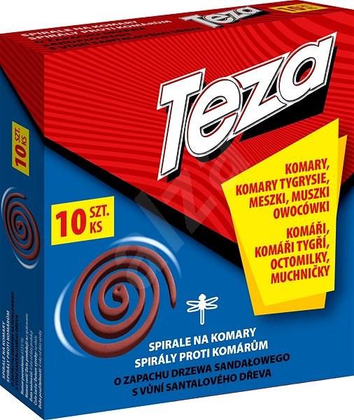 TEZA spirála proti létajícímu hmyzu 10 ks - Lapač hmyzu