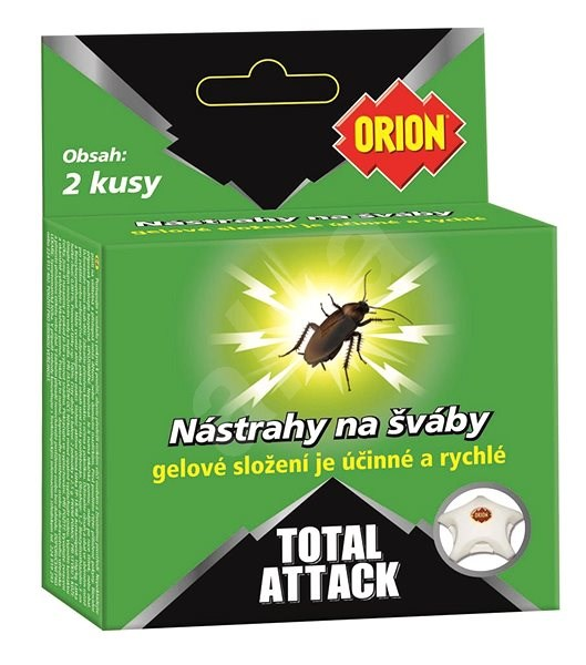 ORION Total Attack Cockroach Bait 2pcs - Insect Killer