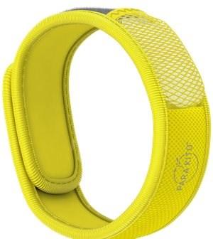 PARA'KITO náramek, žlutý + 2 náplně - Náramek proti komárům
