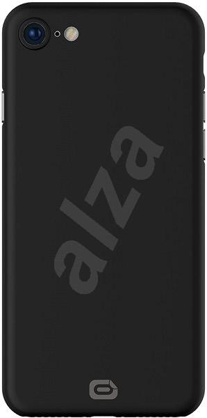 Odzu Crystal Thin Case Black iPhone 8 - Kryt na mobil