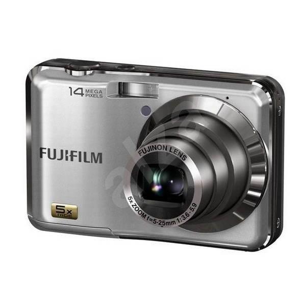 FUJIFILM FinePix AX200 stříbrný - Digitální fotoaparát