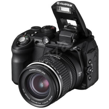 FUJIFILM FinePix S9500, 9.24 CCD HR, optický zoom 10.7x, XD/CF/MD karty, USB2.0 - Digitální fotoaparát