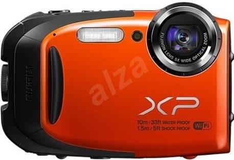 FUJIFILM FinePix XP70 orange - Digitální fotoaparát