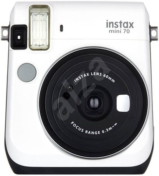 Fujifilm Instax Mini 70 bílý - Instantní fotoaparát