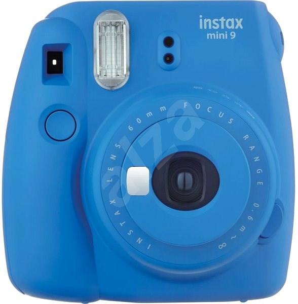 Fujifilm Instax Mini 9 tmavě modrý + 1x10ks fotek - Instantní fotoaparát