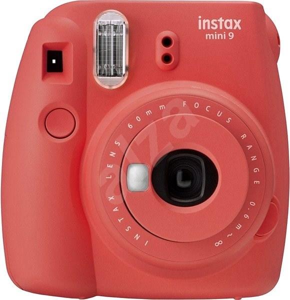 Fujifilm Instax Mini 9 červený - Instantní fotoaparát