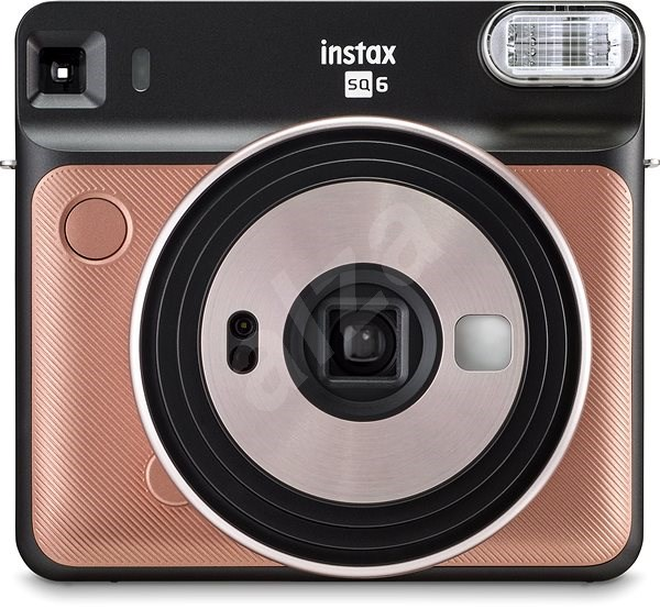Fujifilm Instax Square SQ6 zlatý - Instantní fotoaparát