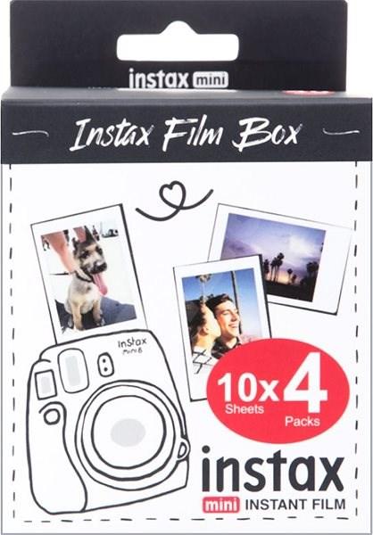 Fujifilm Instax mini film 40ks fotek - Fotopapír