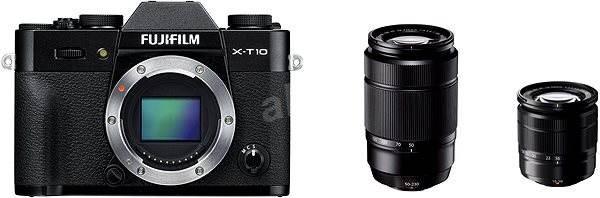 Fujifilm X-T10 Black + objektivy XC16-50mm + XC50-230mm   - Digitální fotoaparát