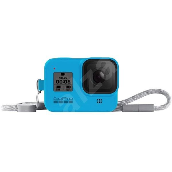 GoPro Sleeve + Lanyard (HERO8 Black) modrý - Ochranný kryt