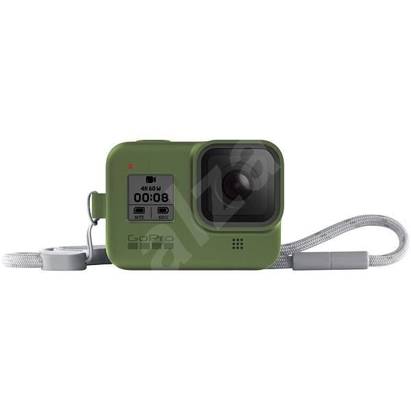 GoPro Sleeve + Lanyard (HERO8 Black) zelený - Ochranný kryt