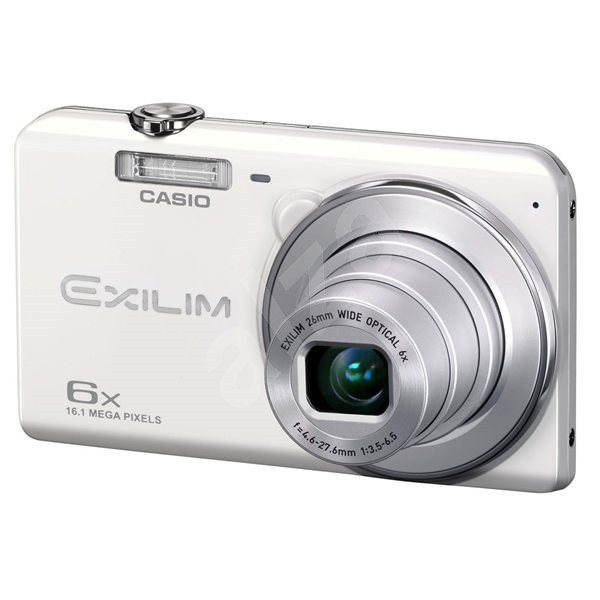 Casio Exilim ZOOM EX-ZS20 WE bílý - Digitální fotoaparát