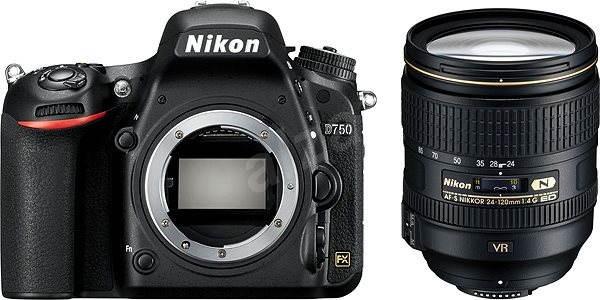 Nikon D750 + Nikkor 24-120 AF-S VR - Digitální fotoaparát