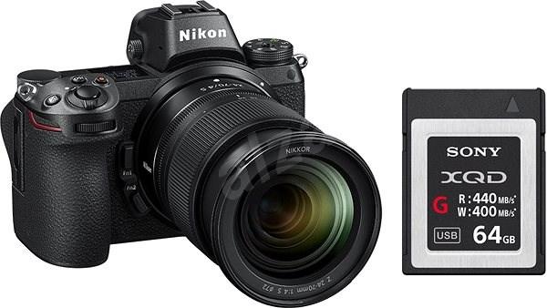 Nikon Z6 + 24-70mm + 64GB XQD karta - Digitální fotoaparát