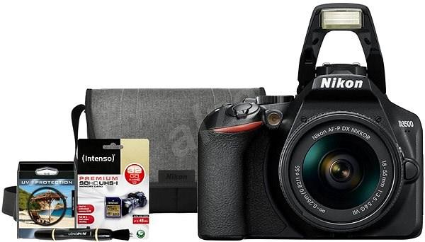 Nikon D3500 černý + 18-55mm + Nikon Starter Kit 55mm - 32GB - Digitální fotoaparát