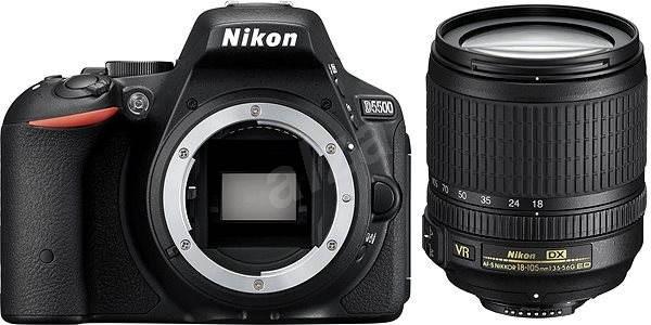 Nikon D5500 + Objektiv 18-105 AF-S DX VR - Digitální zrcadlovka