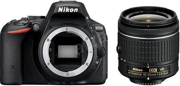 Nikon D5500 + Objektiv 18-55 AF-P VR - Digitální zrcadlovka