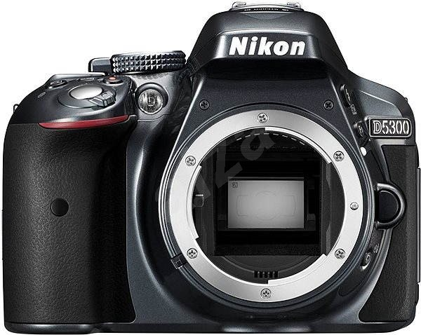 Nikon D5300 tělo šedé - Digitální zrcadlovka