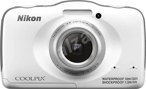 Nikon COOLPIX S32 white - Digitální fotoaparát