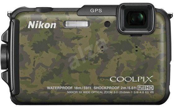 Nikon COOLPIX AW110 camouflage - Digitální fotoaparát