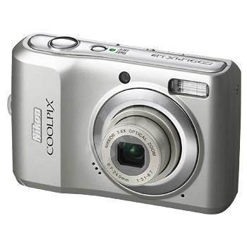 Nikon COOLPIX L19 stříbrný (silver) - Digitální fotoaparát