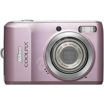 Nikon COOLPIX L19 růžový (pink) - Digitální fotoaparát