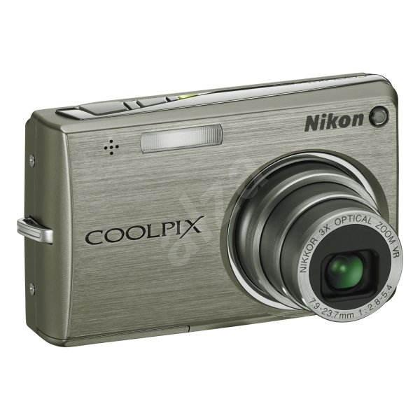 Nikon COOLPIX S700 stříbrný - Digitální fotoaparát