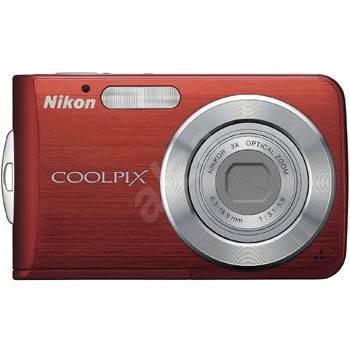 Nikon COOLPIX S210 červený - Digitální fotoaparát