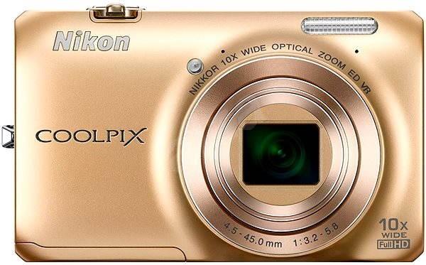 Nikon COOLPIX S6300 gold - Digitální fotoaparát