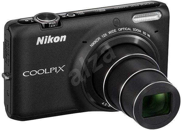 Nikon COOLPIX S6500 black - Digitální fotoaparát