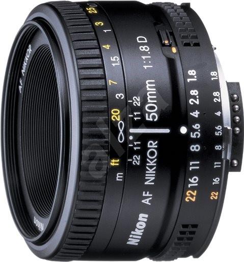 NIKKOR 50mm f/1.8 AF D - Objektiv