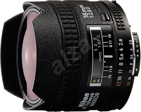 NIKKOR 16mm f/2.8 AF D A - Objektiv