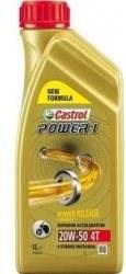 Castrol Power 1 4T 20W-50 1L - Motorový olej